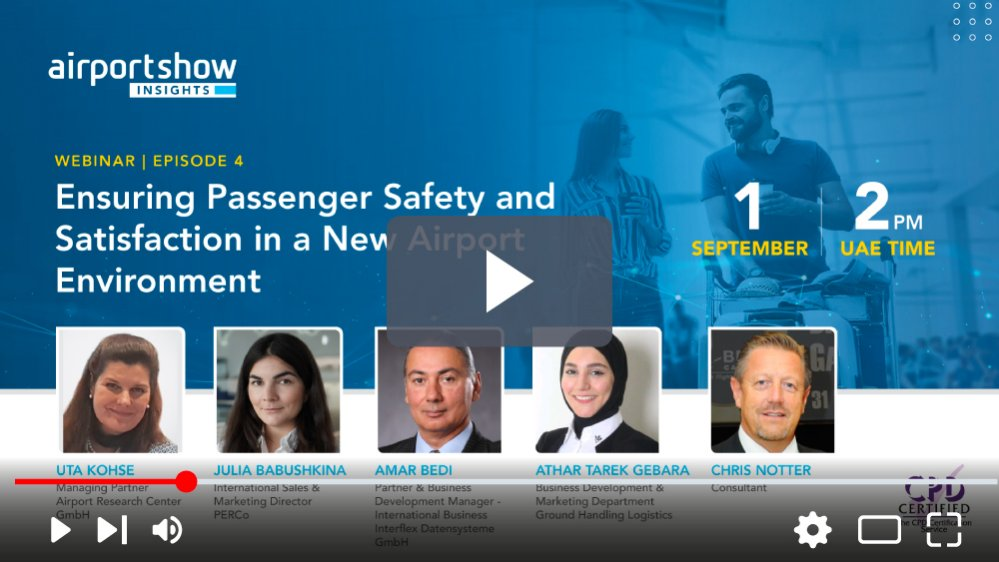 Ensuring Passenger Safety and Satisfaction in a New Airport Environment
